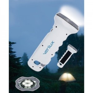 Verilux ReadyLight Solar Rechargeable Flashlight