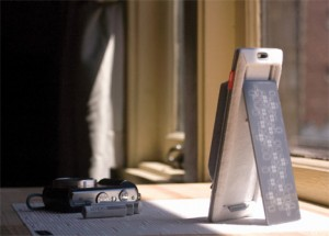 reNEW Solar Battery Charger by Window