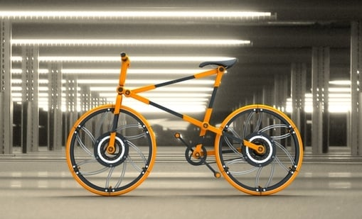 Eco 7 - Compact Foldable Bike