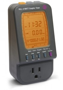 Kill A Watt Graphic Mains Timer