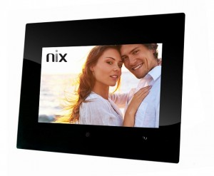 X10A Motion Sensing Digital Photo Frame - Front