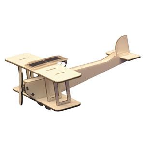 Solar Powered Model Biplane