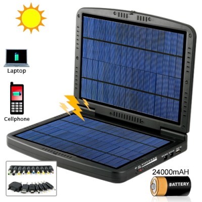 Portable Solar Battery Charger For Commercial Electronics