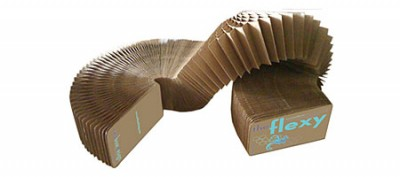 The Flexy - A Slinky Made Of Cardboard