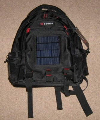 Solar Charging Infinit Rucksack IV2.1