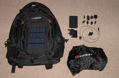Infinit Rucksack IV2.1 with Accessories