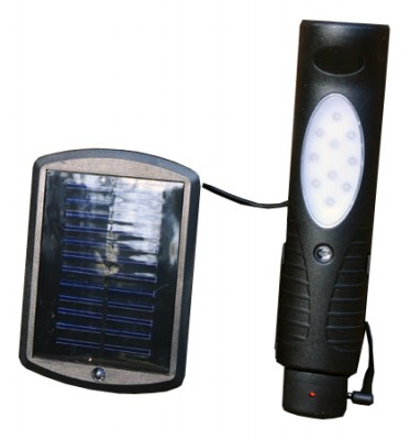Solar LED Torch And Worklight