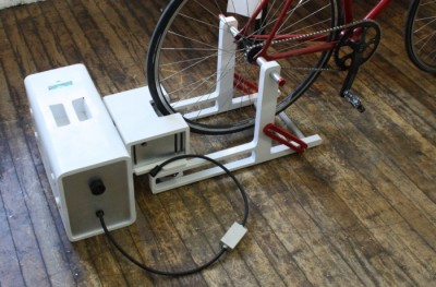Bicycle Powered Generator Concept