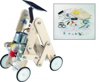 Lunar Car Solar Powered Robot Kit