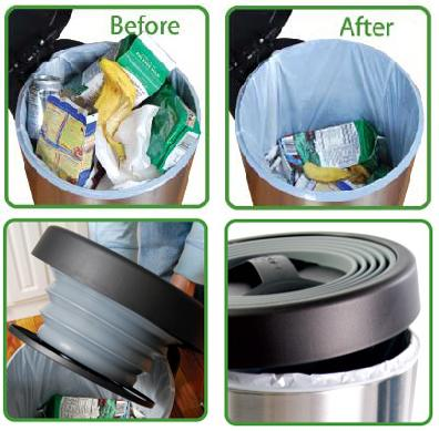 Self Powered Compactor Trash Can By Reduce