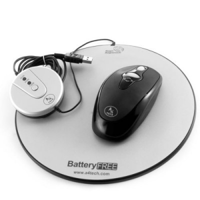 Eco-Friendly Battery-Free USB Wireless Optical Mouse