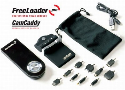 Freeloader Pro Solar Powered Charger with Adaptors