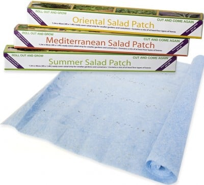 Seedbed On A Roll Easy to Grow Salad