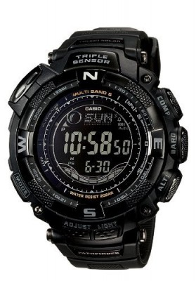 Casio Men's PAW1500Y-1 Pathfinder Multi-Band Solar Atomic Digital Watch