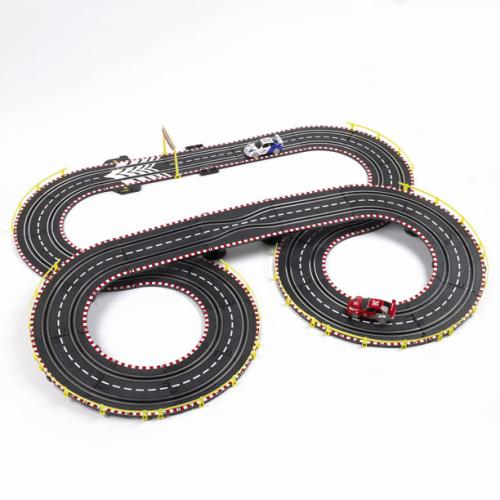 Toy Car Track : Generator racing hand powered car toy envirogadget