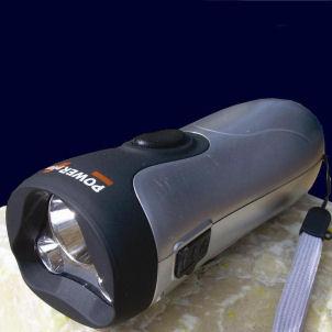 Nighthawk - Dynamo LED Torch and Powerbank By Powerplus