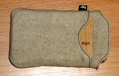 iPhone 3GS Case Hessian Pouch