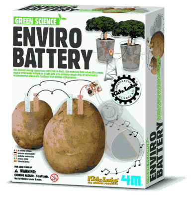 Enviro Battery Educational Kit By Green Science