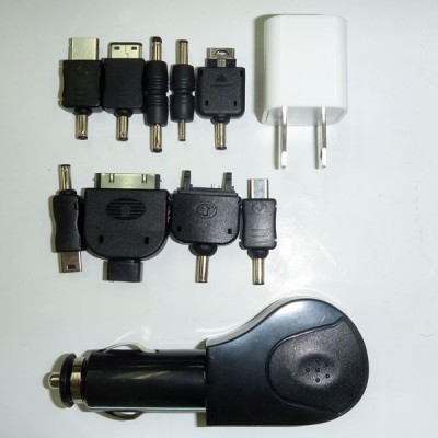 All-in-One High Power Solar Charger Toolkit Connectors