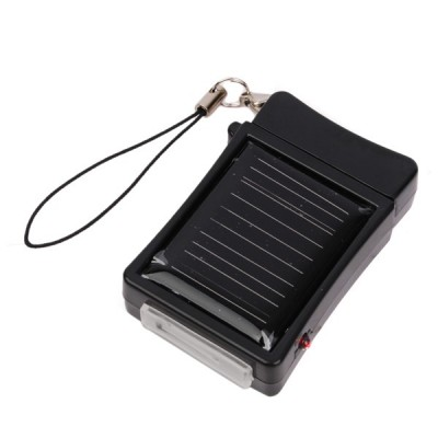 Emergency Solar Charger for Apple iPhone - with Strap