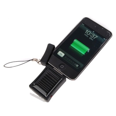Emergency Solar Charger for Apple iPhone - with iPhone