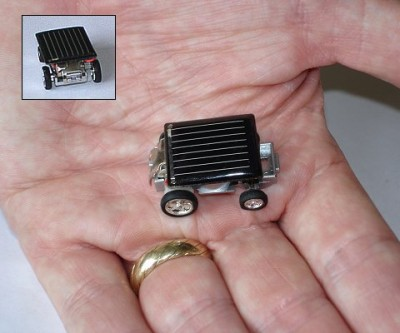 Mini Solar Racer - World's Smallest Solar Powered Car