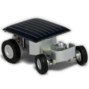 Mini Solar Racer - World's Smallest Solar Powered Car