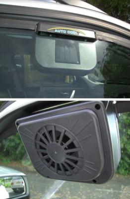 Solar Power Auto Cooler