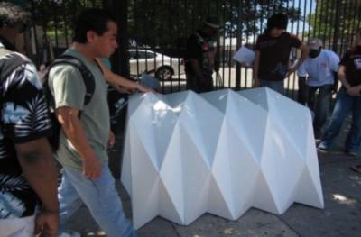 Cardborigami - Cardboard Shelter For Victims Of Calamities