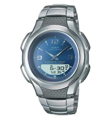 AWS90D-2AV - Ani-Digi Solar Men's Watch By Casio