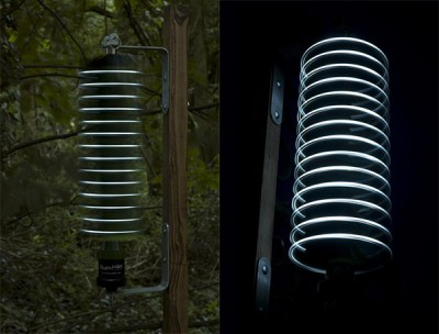 Firewinder - Wind Powered Garden Light