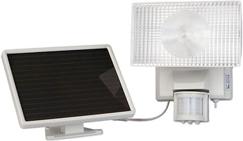 Solar Powered Motion-Activated 80 LED Security Floodlight