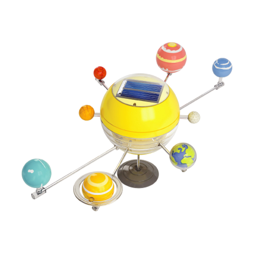 solar system for kids The solar system is made up of the sun and all of the smaller objects that move around it apart from the sun, the largest members of the solar system are the eight.