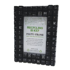 Recycled Keyboard Frame By Two's Company