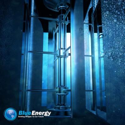 Tidal Bridge Technology - Rotor Closeup