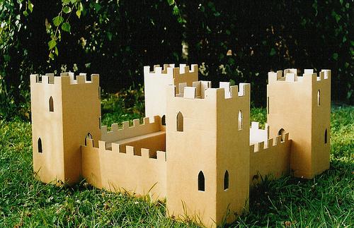 Замок своими руками построить 990