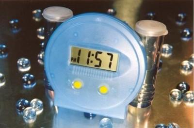Water Powered Digital Alarm Clock