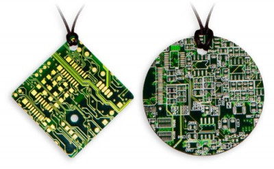 Printed Circuit Board Necklace
