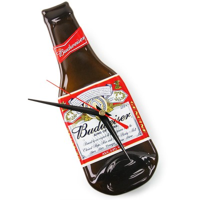 Re-Purposed Beer Bottle Clocks