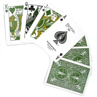 Bicycle Green Eco Edition Playing Cards