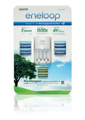 Eneloop Rechargeable Batteries By Sanyo