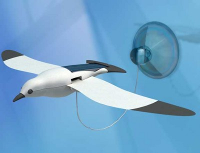 Solar Powered Flapping Seagull Kit