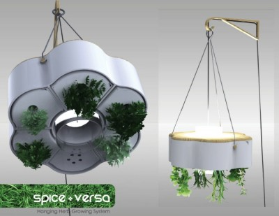 Spice-Versa - Hanging Herb Growing System