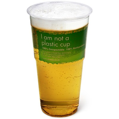 Biopac Biodegradable Pint Tumblers