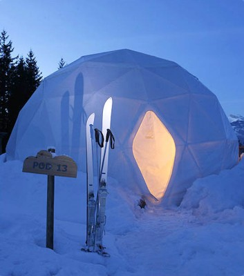 Whitepod - Eco-Friendly Hotel Concept