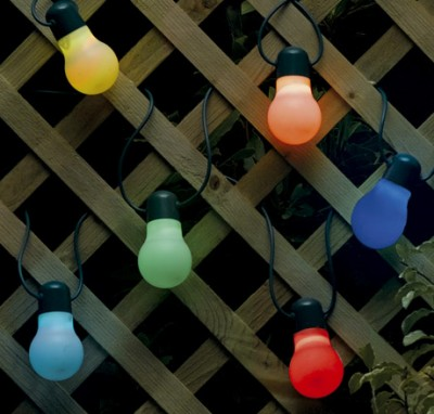 Smart color changing outdoor solar party lights envirogadget smart solar party light string aloadofball Gallery