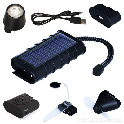 A-solar 6-in-1 Charging Kit
