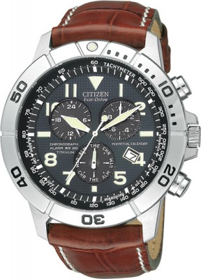 Citizen Men's Eco-Drive Perpetual Calendar Chronograph Watch - BL5250-02L