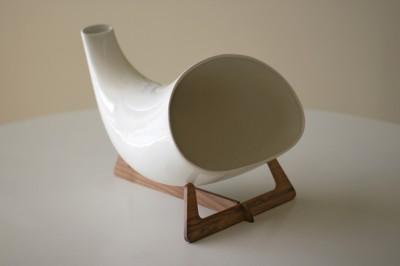 Megaphone - Ceramic iPhone Loudspeaker