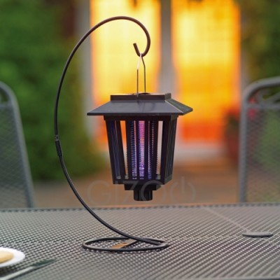 Solar Powered Mosquito Zapper Lantern